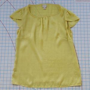 Merona Women's Medium Scoop Neck Short Cap Sleeve
